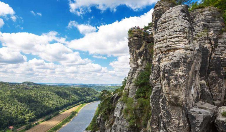 Moldau-Elberadweg