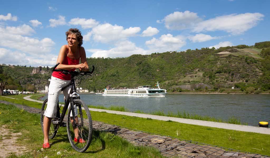 Radreise-Rheinradweg